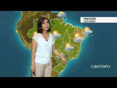 Imagens de calor - Previsão Brasil – Sol, calor e pancadas de chuva