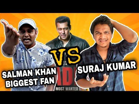Salman Khan Biggest Fan VS Suraj Kumar on Radhe And Bollywood | Angry Reply | Roasting