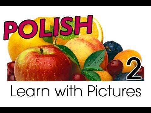 Früchte - Polnische Vokabeln