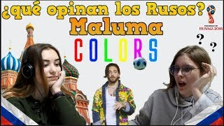 """Video Adolescentes Rusos reaccionan a Maluma """"Colors"""" Canción mundial MP3, 3GP, MP4, WEBM, AVI, FLV Juni 2018"""