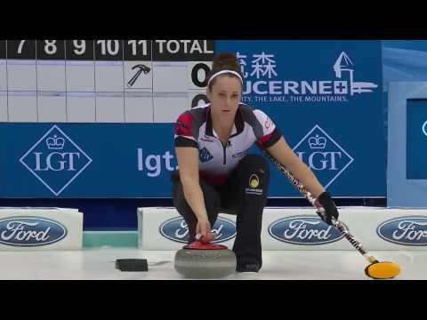 2017 World Womens Curling Championship - Canada (Homan) vs. Scotland (Muirhead) (видео)