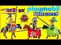 PLAYMOBIL Knights Figure Packs | Playmobil Medieval KNIGHTS Toy Opening Video | Unboxing
