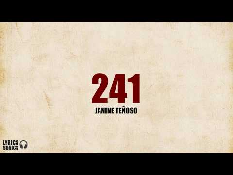 Janine Tenoso - 241 (Cover) Lyrics