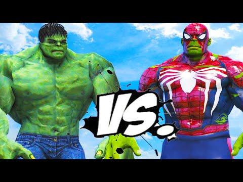 THE INCREDIBLE HULK VS HULK - SPIDERMAN