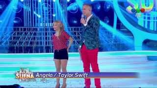 Angela Torres Es Taylor Swift En Tu Cara Me Suena 2014 HD