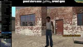 GTA:SA Single Segment Any% OLDWorld Record [6:39:04] (New WR Is 6:38:07)