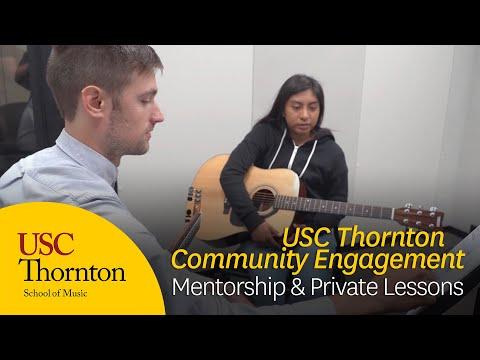 USC Thornton Community Engagement: Mentorship & Private Lessons
