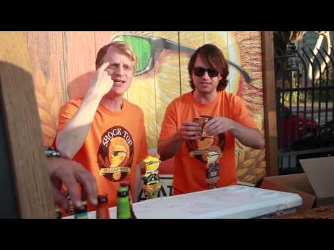Beer Festival Shockwave & Flytalker UCB Prank Episode 1 – Shock Top Pretzel Wheat Beer