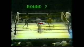 Michael Spinks KO2 Jasper Brisbane