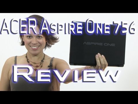 756 - Acer Aspire 756 Review - http://www.netbooknews.com - Acer has come to market with a device that is the new benchmark for the netbook category. The Aspire On...