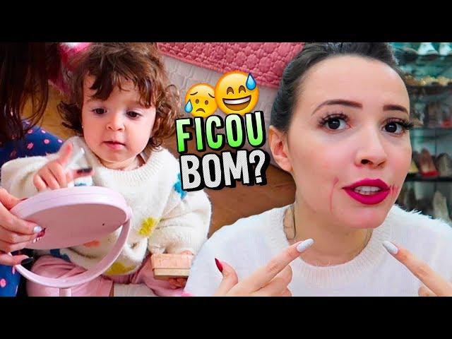 MINHA FILHA ME MAQUIOU !!! - Taciele Alcolea