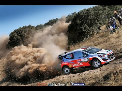 Vídeo shakedown WRC Rallye Italia Cerdeña 2015