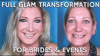 """In this STEP BY STEP BEAUTY TUTORIAL I am sharing with you a FULL GLAM BRIDAL MAKEUP Transformation on one of my recent clients. This is a full step by step talk through demo, but I will be releasing the entire look broken down into multiple detailed parts in a seminar series unlike anything else done on Youtube. Make sure you subscribe to my channel and turn on your notifications.Remember to click on the THUMBS UP TAB if you liked this video and leave me a comment down below!  SUBSCRIBE TO MY BEAUTY CHANNEL RIGHT HERE for weekly Beauty Demos, Product Reviews, Makeup Tutorials, and MORE! http://bit.ly/1pX0dBgWould YOU like to be updated on my newest Online Courses , Makeup Classes & Seminars? Sign up here http://bit.ly/2axZUOpCHECK OUT SOME OF MY OTHER AMAZING BEAUTY DEMOS HERE-BEST BRIDAL MAKEUP & HAIR IN LOS ANGELES  AMAZING WEDDING MAKEUP & HAIR ARTISThttp://bit.ly/1RWv6CmSummer Bridal Wedding Makeup & Hair Full Glam Tutorial http://bit.ly/2saHxYtFOLLOW ME on FACEBOOK every Wednesday at 5pm PST during my LIVE Q&A on my Fan Page http://www.facebook.com/mathias4makeupLucky for you I am the only Pro Makeup Artist on YouTube that offers private makeup lessons as well! I teach one on one personal makeup lessons in L.A. at my studio or live over video conference from home, check out my vlog about how you and I can work together! http://bit.ly/1I0Eww3LIKE MY EYEWEAR??? BUY YOUR OWN FRAMES AT FIRMOO HERE!FIRMOO EYEWEAR- Please use my affiliate link to get Free Shipping Worldwide for orders over $55http://bit.ly/2mepvktMY PERSONAL FILMING EQUIPMENT AND ACCESSORIES-Diva Ring Light Super Nova 18"""" Dimmable Ring Light http://amzn.to/29QMj2ZCowboy Studio 9' Foot Air Cushion Aluminum Stand for Lighthttp://amzn.to/29L0PrgThe Makeup Light Key Light Starter Kit, Nickel / White with Adjustable Gooseneck, Stand, and Shoulder Baghttp://amzn.to/29KSic1Canon EOS70D Digital SLR Camera Kit w Lens & Accessorieshttp://amzn.to/2aiDehKTAKSTAR Professional MIC Recording Microphone for Nikon C"""