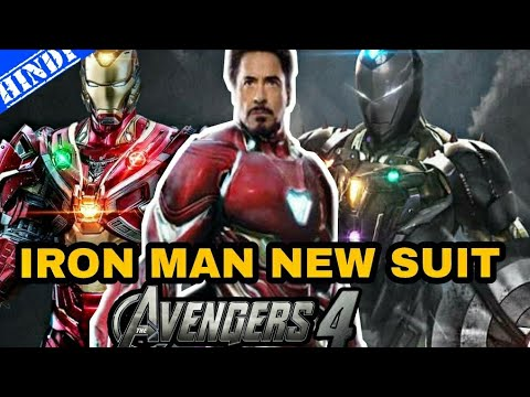 Iron Man New Suit In Avengers 4 | Stealth Invisible Armour | Explained In Hindi