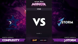 [RU] compLexity vs J.Storm, Game 1, StarLadder ImbaTV Dota 2 Minor S2 NA Qualifiers