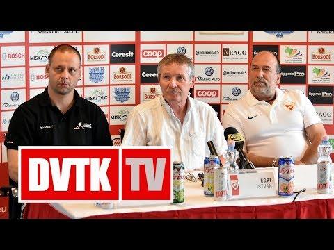 Változások a DVTK Jegesmedvéknél | 2017. június 26. | DVTK TV