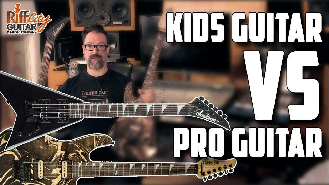 Kids Guitar Vs Pro Guitar – The Affordable Guitar Studio Challenge