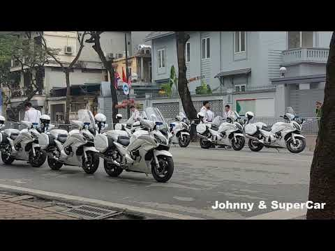 Dàn motor khủng Yamaha hộ tống Kim Jong Un tại Việt Nam chất lắm luôn - Thời lượng: 88 giây.
