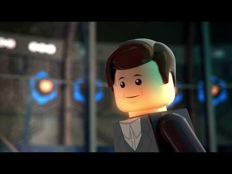 A LEGO Animation of the Regeneration of the 11th Doctor From  Doctor