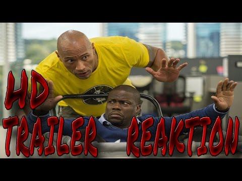 CENTRAL INTELLIGENCE (2016) | Trailer#1  Reaktion | German Deutsch | [DE][HD]