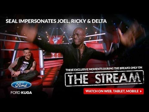 Joel Madden - Watch while Seal gives us his best renditions of Joel, Ricky and Delta. How well can he take on the form his coaching counterparts? To view more of these ung...
