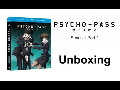 Unboxing: Psycho Pass - Series 1 Part 1 (Blu-ray / DVD Combo Pack) [HD]