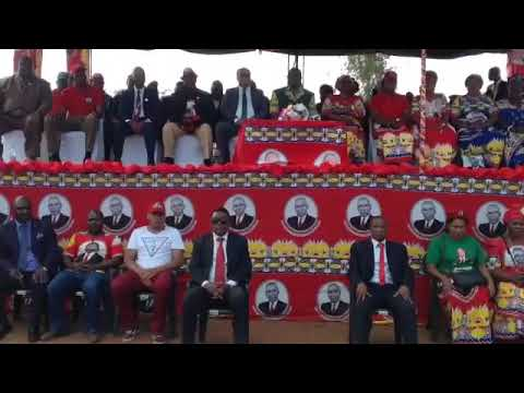MCP's Dowa Rally: Chakwera promises Agricultural revolution, national youth service among others