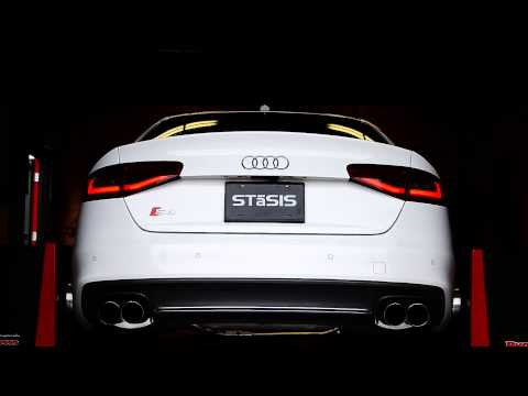 Video STaSIS B8 S4 3.0T cat-back exhaust