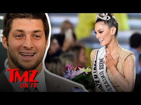 Tim Tebow Engaged to 2017 Miss Universe! | TMZ TV