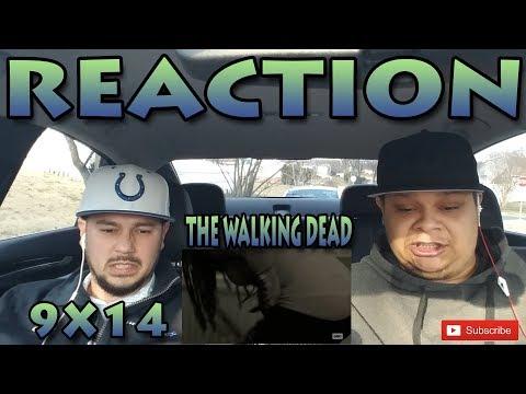 """THE WALKING DEAD SEASON 9 EPISODE 14 REACTION """"SCARS"""""""