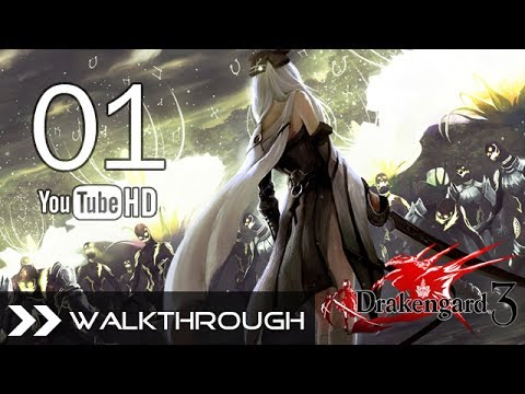 Drakengard 3 Walkthrough Gameplay English - Part 1 (C1: Verse 1-3 - 5 Sisters Boss) No Commentary (видео)