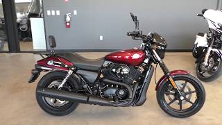 7. 510060   2017 Harley Davidson Street 500   XG500 Used motorcycles for sale