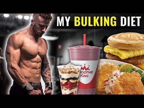 My BULKING Diet for 2020 (FULL DAY OF EATING)