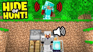 Proximity Voice Chat in Minecraft Hide Or Hunt!