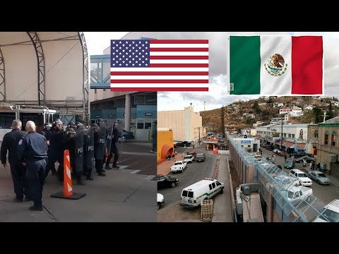 Vamonos a Mxico!! ocmo est la frontera? USA se prepara para la caravana de migrantes.