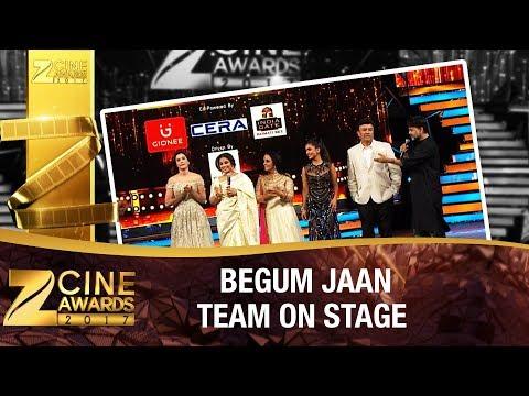 Begum Jaan Team | Story of The Fearless Women | Zee Cine Awards 2017