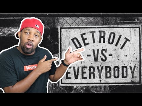 [ REACTION ] Eminem, Royce da 5'9, Big Sean, Danny Brown, Dej Loaf, Trick Trick Detroit Vs Everybody