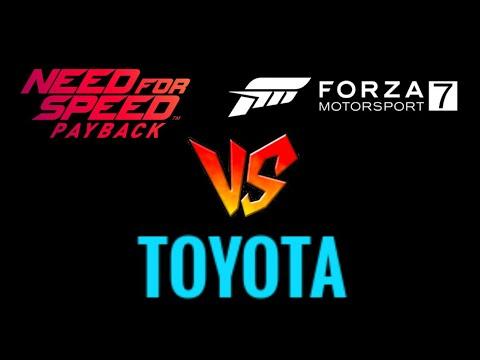 NFS Payback Car List & FM7 Car List: TOYOTA - THE TRUTH REVEALED