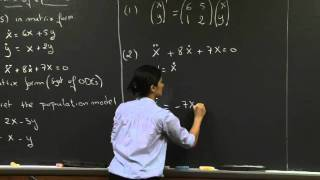 Linear Systems Of Equations | MIT 18.03SC Differential Equations, Fall 2011