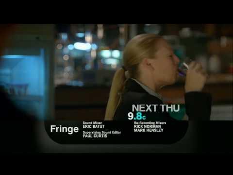 "Fringe 2x04 ""Momentum Deferred""  Promo"