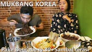 Video Mukbang Korea Pake Boncabe lv 30 + Sambal Terasi Ft Harijisun MP3, 3GP, MP4, WEBM, AVI, FLV Desember 2017