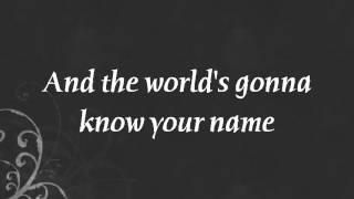 The Script feat. will.i.am - Hall Of Fame (Lyrics)