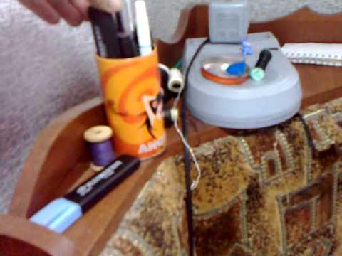 Первое видео. Знакомство. Текущая работа по вышивке крестиком. (видео)