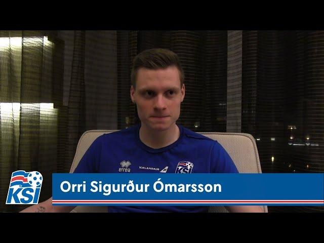 Orri Sigurður: Fáránlega vel tekið á móti okkur