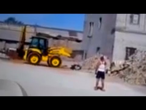 Ruso graba su propia muerte en trágica demolición