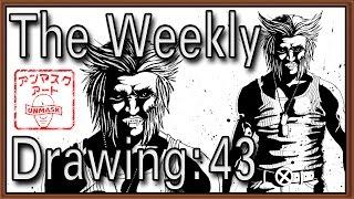 Weekly Drawing 43: Drawing Wolverine