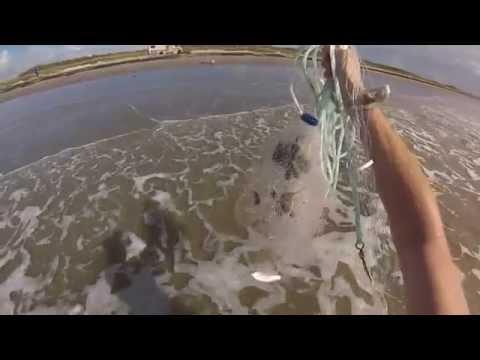 Surf Fishing Surfside Texas