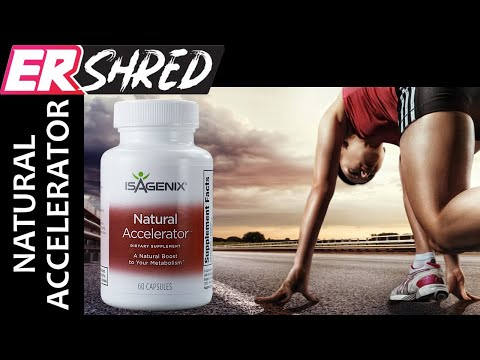 ISAGENIX NATURAL ACCELERATOR  Thermogenic Fat Burner