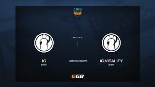 iG vs iG.Vitality, Game 3, Dota Summit 7, CN Qualifier