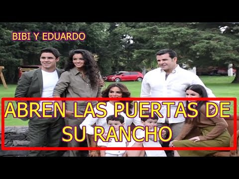 Video BIBY GAYTAN Y EDUARDO CAPETILLO ABREN LAS PUERTAS de su RANCHO y PRESENTAN A SUS HIJOS download in MP3, 3GP, MP4, WEBM, AVI, FLV January 2017